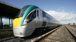 Irish Rail (stock photo)