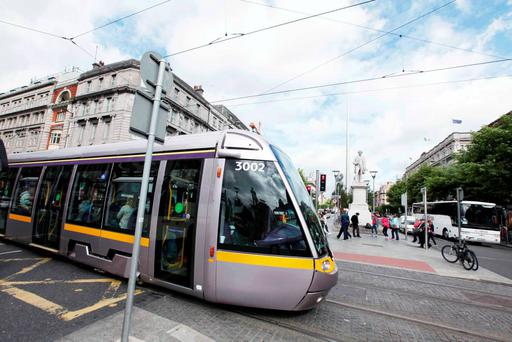 Besides Dublin 7, the new line crosses parts of Dublin 1 and 2 where there are relatively few residential properties. Photo: Stephen Collins/Collins Photos