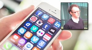 Matthew Horan (26) used Skype, Snapchat, Instagram and Kik, an anonymous instant messaging application
