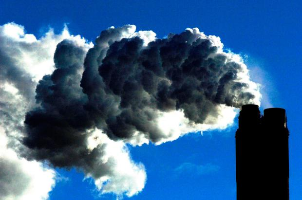 Carbon emissions are rising. Stock picture