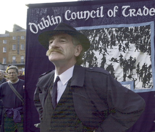 Campaigner: Jer O'Leary was a social activist. He was involved in campaigns to end homelessness and was at the May Day march in Dublin in 2003. Photo: RollingNews.ie