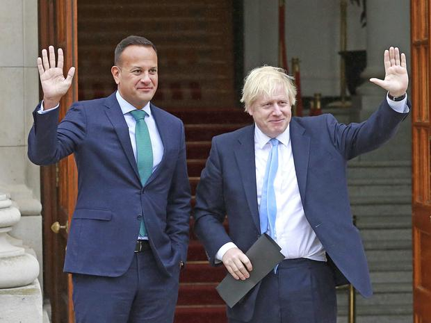 'Varadkar found Johnson very personable, intelligent and easy to deal with.'