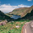 INTO THE VALLEY: The Gap of Dunloe is one of the many beauty spots featured in the new book