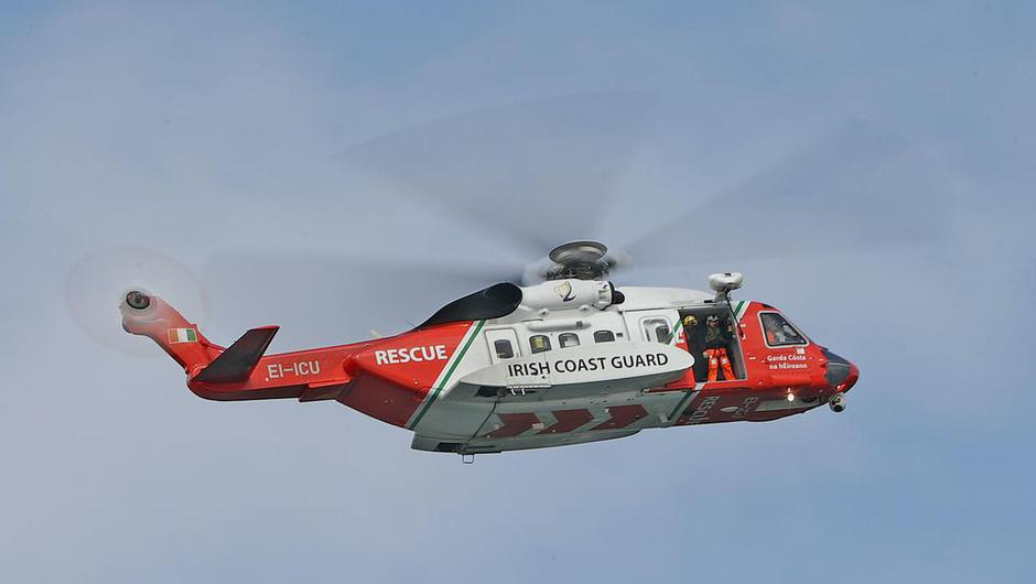 Coast Guard helicopter (PA)