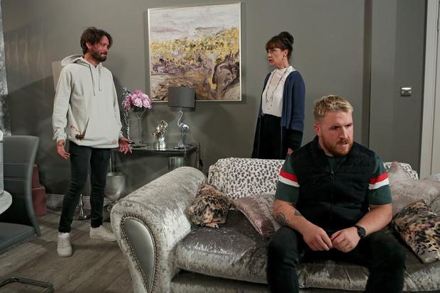 Ger is appalled when Lee and Darragh confess to killing Will