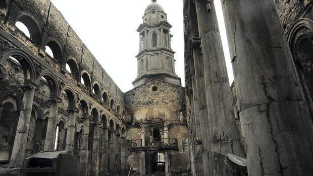 The gutted cathedral