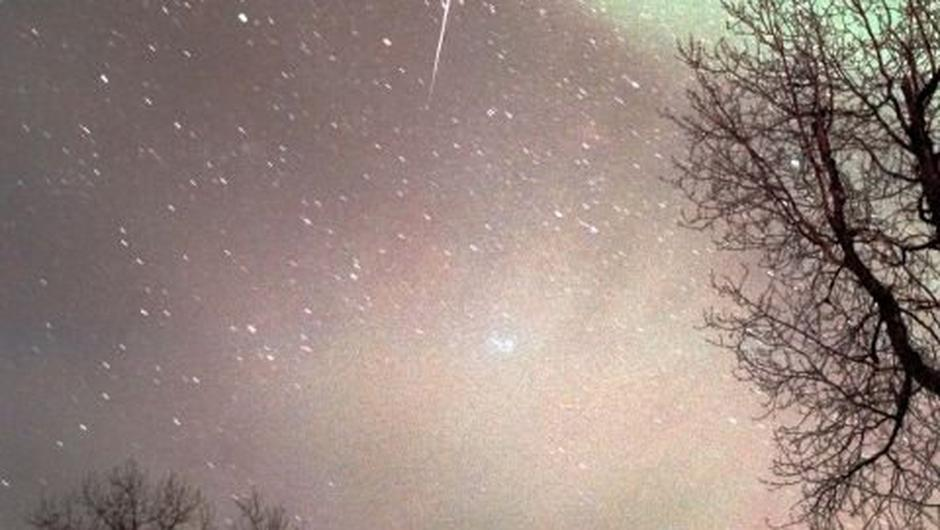 This celestial display is associated with the Halley's Comet, which orbits the sun once every 76 years