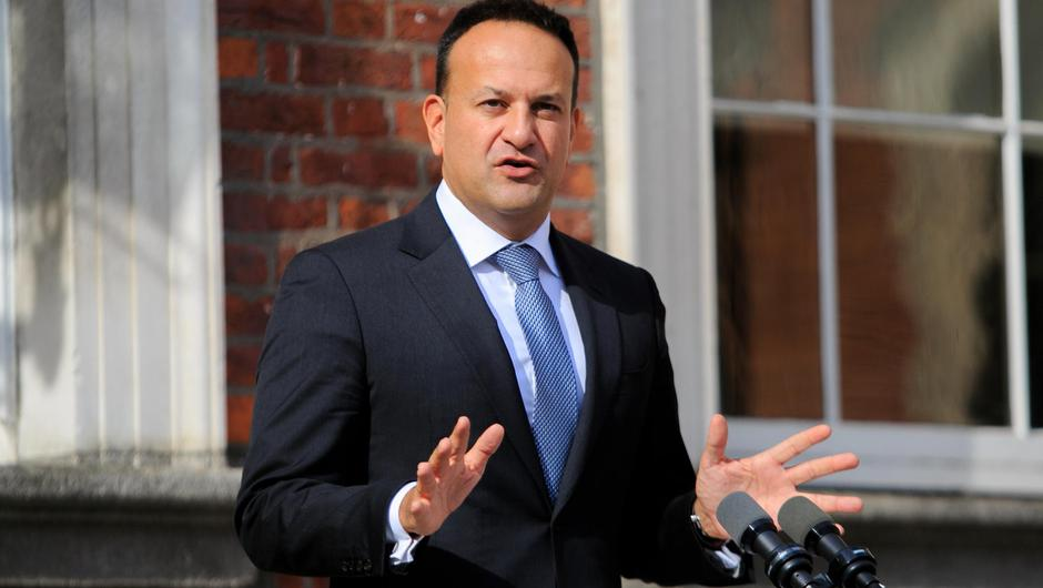 Tánaiste Leo Varadkar suggested the payment should be made to more than just health workers. Photo: Gareth Chaney/Collins