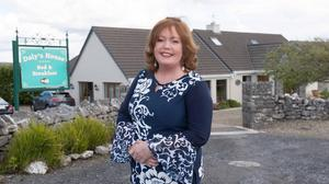 Susan Daly, whose Daly's House B&B in Doolin, Co Clare, has been named by TripAdvisor as its number one in the Top 10 Irish B&Bs for 2021. Photo: Eamon Ward
