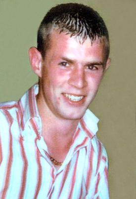 Paul Quinn, who was beaten to death in a barn in Monaghan