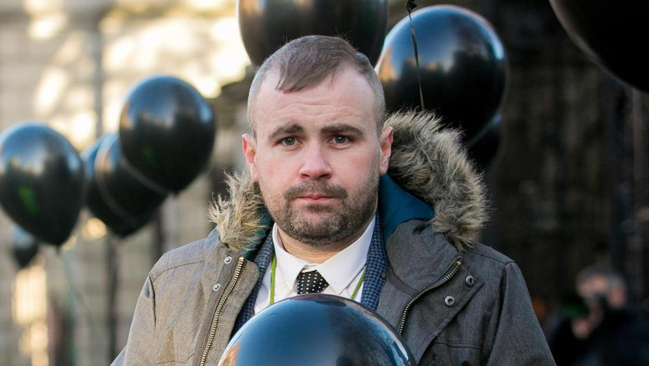 Anthony Flynn, pictured in 2020, had indicated he would be stepping away from his role with Inner City Helping Homeless. Photo: Gareth Chaney /Collins