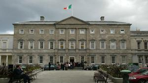 Leinster House. Stock image
