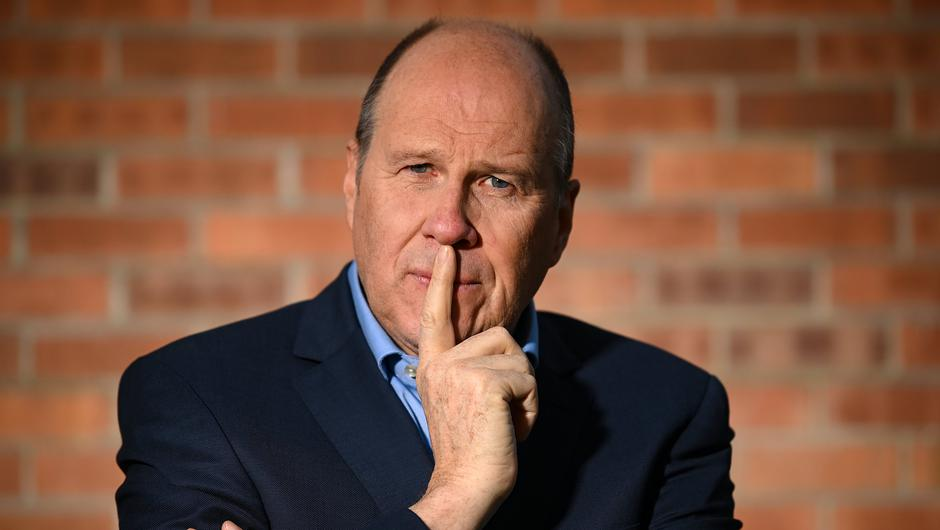 Ivan Yates, presenter of The Green Room, on Virgin Media. Photo: Stephen McCarthy/Sportsfile