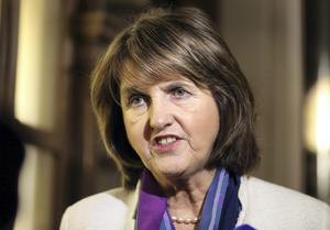 Labour party leader Joan Burton