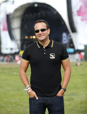 Varadkar at Electric Picnic in 2015