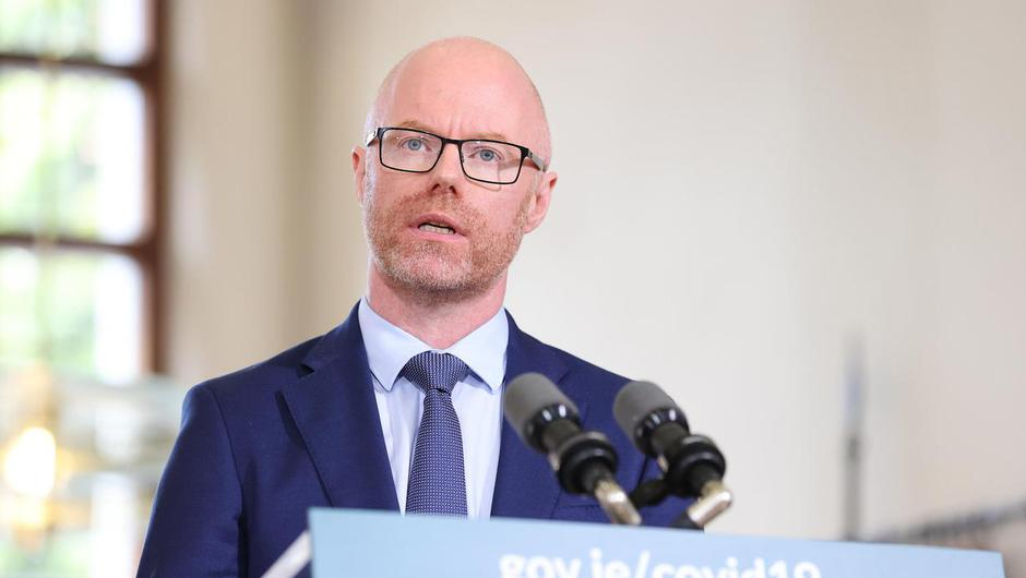 Health Minister Stephen Donnelly