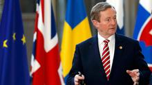 Former Taoiseach Enda Kenny Picture: Reuters