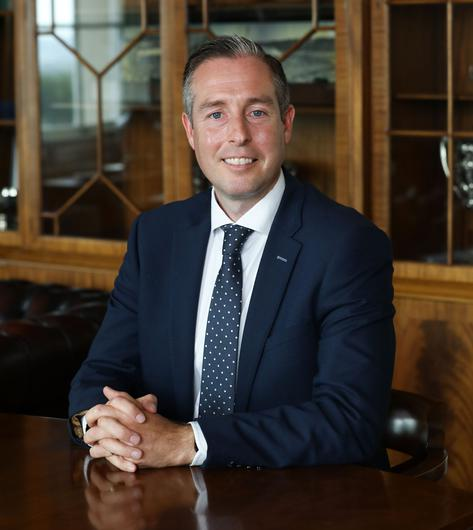 Northern Ireland First Minister Paul Givan