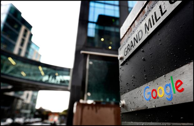 Google in Dublin at the Grand Canal. Photo: Steve Humphreys