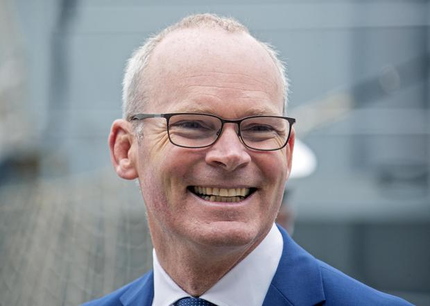 Simon Coveney said he deleted his texts for cyber security reasons. Other Fine Gael ministers also admitted wiping texts. Photo: Collins