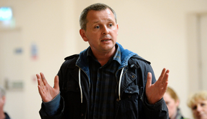 """People Before Profit TD Richard Boyd Barrett said the arts, music, entertainment and events sector is """"facing an absolutely dire crisis"""". Photo: Caroline Quinn"""