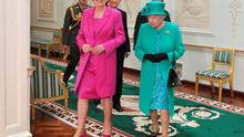 Mary McAleese and Queen Elizabeth II