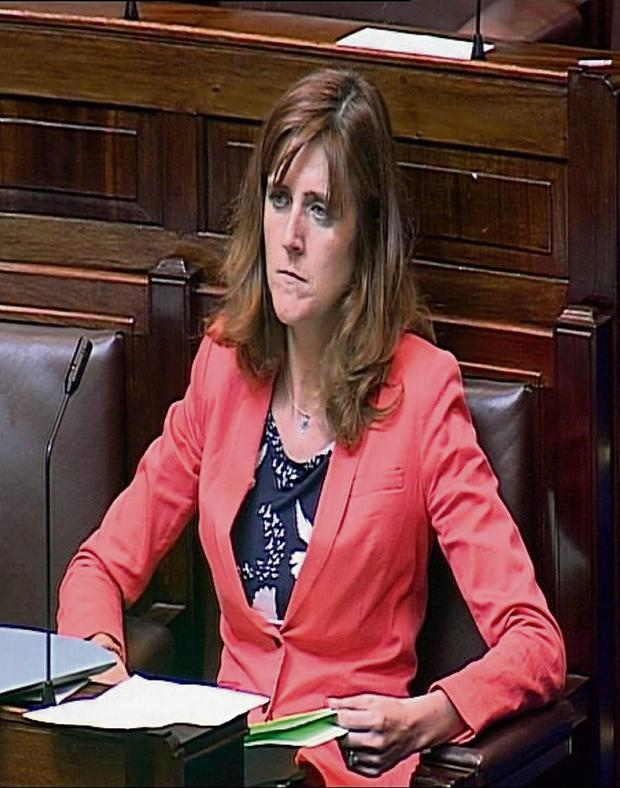 STANDS BY HER DECISION: Ms Mulherin says she feels she can achieve more in Fine Gael than out
