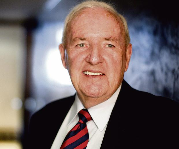 BLUE BLOOD: Despite his Fine Gael pedigree, Bill O'Herlihy voted for his fellow Corkman and Fianna Fail Taoiseach Jack Lynch, who he thought was 'terrific'. Photo: Gerry Mooney