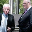 Phil Hogan and Frank Flannery in July 2012