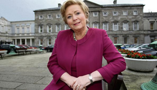 Minister for Children Frances Fitzgerald. Photo: Tom Burke