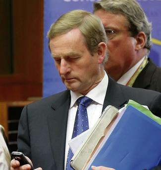 Enda Kenny. Photo: Pascal Rossignol