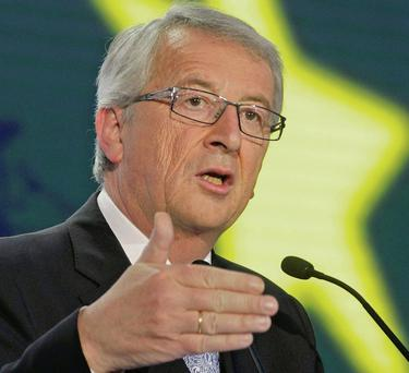 The new EU Commission president Jean-Claude Juncker.