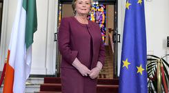FRANCES IN OFFICE: New broom or a case of the emperor's new suit? The Justice Minister could yet evolve into Fine Gael's Hillary Clinton, but, to secure that status she must deal with the legacy of a turbulent priest called Alan Shatter