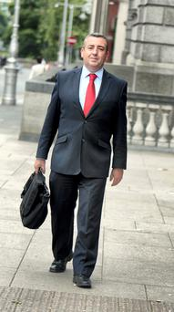 Labour TD Ciaran Lynch heads up the banking inquiry, which begins its public hearings next Easter. Photo: Tom Burke.