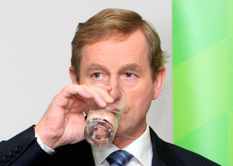 'It's only resting, or stunned, protested a poker-faced Enda'