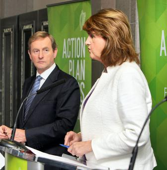 Enda Kenny and Joan Burton are today confronted by a startling political paradox