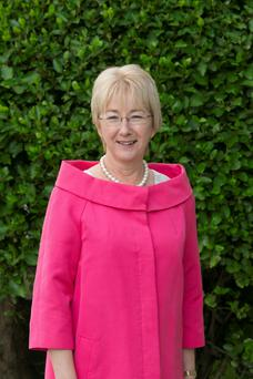 Mary Hanafin at the opening of Fianna Fail Ard Fheis 2015 in the RDS