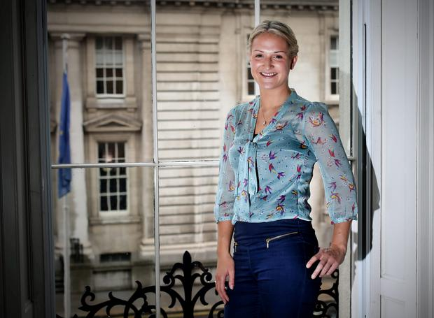 The youngest female TD, Helen McEntee