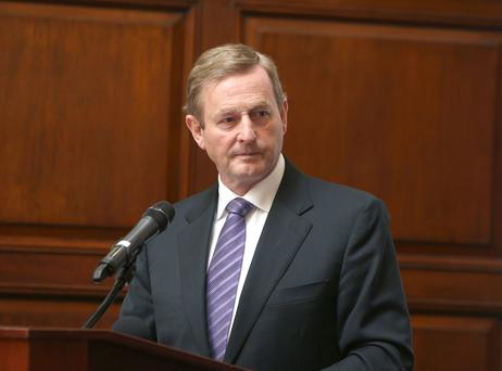 Taoiseach Enda Kenny: cut ribbon on Great Island power plant
