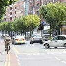Cyclists who break red lights or use footpaths instead of the road will be hit with a €40 fine under new rules coming into force from July 31