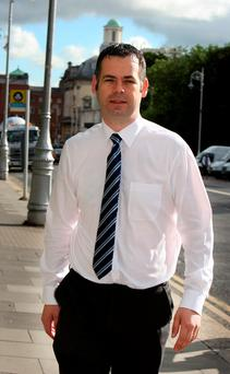 Sinn Féin's Pearse Doherty was in Athens for the vote