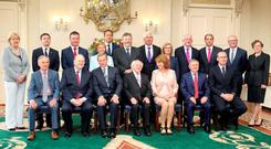 The current cabinet