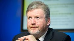 Minister for Children and Youth Affairs Dr James Reilly TD at the publication of the General Scheme and Heads of the Adoption (Information and Tracing) at Government Buidlings Dublin