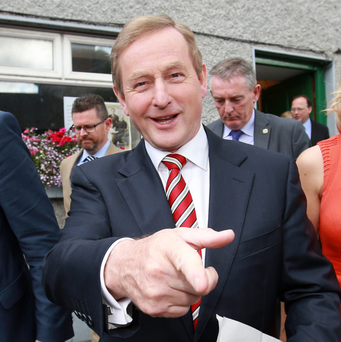 Taoiseach Enda Kenny has been upset by speculation