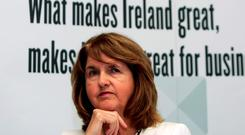 UNDER PRESSURE: Labour leader Joan Burton has a major fight on her hands, but she is by no means beaten yetof
