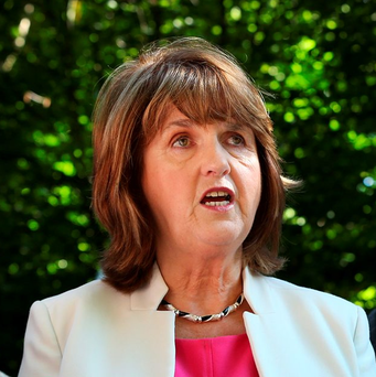Labour Leader and Tanaiste Joan Burton TD