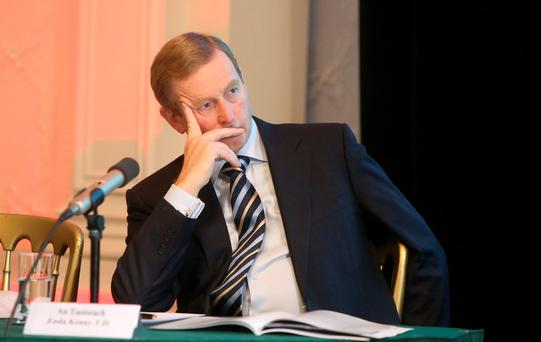 Taoiseach Enda Kenny's attempts to subdue a controversyabout the date of the forthcoming General Election has made him look weak and puerile
