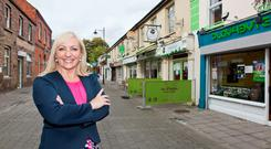 Fine Gael's Fiona McLoughlin- Healy is often mistaken for her Fine Fáil rival by her constituents in Newbridge, Co Kildare
