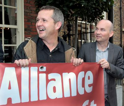 Small share: Richard Boyd Barrett — despite water charges and sluggish recovery is still only at 1.7pc