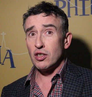 Steve Coogan: Ubiquitous on Irish airwaves last week
